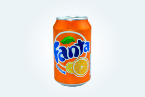 Fanta orange * 33 cl  :